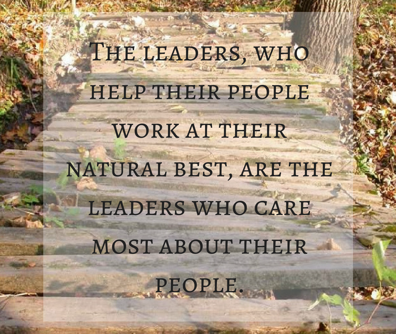 As a leader care about your people